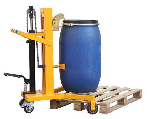 脚踏式液压油桶搬运车DTF450B