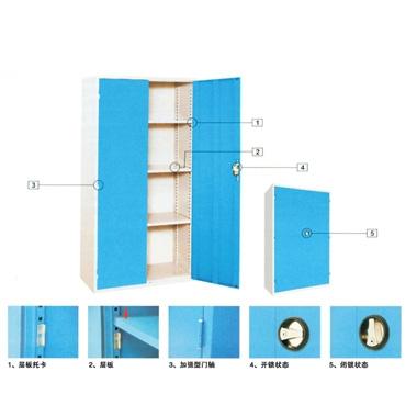 层板式置物柜